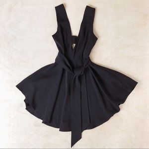 NWT Finders Keepers COLLIDE DRESS IN BLACK